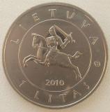 Republica Lituania - 1 Litas 2010 - Batalia de la Grunwald