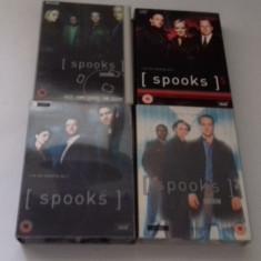 LOT SERIALE DVD - Spooks - 4 sezoane, Politist, Engleza