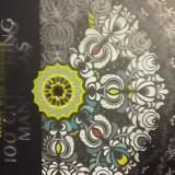Carte de Colorat pentru Adulti / Copii Mandala Cartonata