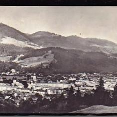 ROMANIA 1966 - VEDERE DIN CAMPULUNG-MOLDOVENESC.  ILUSTRATA CIRCULATA, FD83, Fotografie