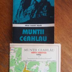 Muntii Ceahlau - Mihai Gabriel Albota (cu harta)/ R7P2F