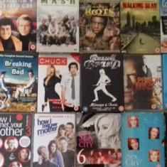LOT 18 SERIALE DVD - MASH + Miami Vice + Starsky Hutch +, SF, Engleza
