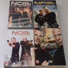 LOT SERIALE DVD - NCIS - 4 sezoane, Politist, Engleza
