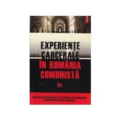 Experiente carcerale in Romania comunista, vol. 6