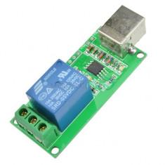 Modul 1 releu 5v 220v comandat prin USB