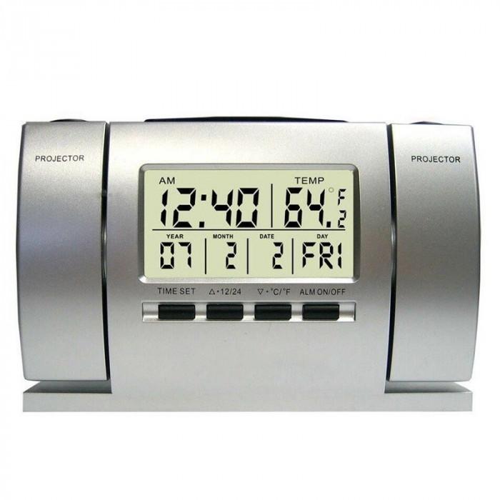 Ceas Cu Proiectie Alarma Si Termometru DS-503
