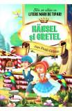 Hansel si Gretel - Stiu sa citesc cu litere mari de tipar, Fratii Grimm