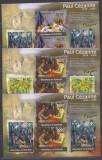 DB Arta Pictura Paul Cezanne   Burundi  4 MS + SS MNH, Nestampilat