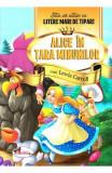 Alice in Tara Minunilor - Stiu sa citesc cu litere mari de tipar, Lewis Carroll