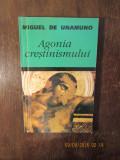 AGONIA CRESTINISMULUI-MIGUEL DE UNAMUNO