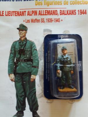 Soldat plumb-SS Officer - Germany - 1944 Nr: 10 + Revista 1:32 foto