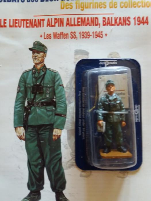 Soldat plumb-SS Officer - Germany - 1944 Nr: 10 + Revista 1:32