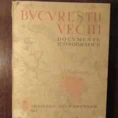 BUCURESTII VECHI -DOCUMENTE ICONOGRAFICE ,1936