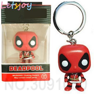 Breloc Figurina Funko Pop! Deadpool Marvel foto