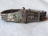 BRATARA argint INDIA RAJASTHAN etnica TRIBALA manopera EXCEPTIONALA rara VECHE