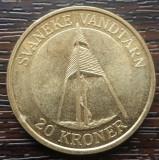 (M1944) MONEDA DANEMARCA - 20 KRONER 2004, COMEMORATIVA - SVANEKE VANDTARN, Europa