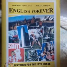English forever. CLASA A 11-A - Simiorina Tomulescu