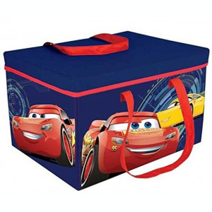 Cutie pentru depozitare jucarii transformabila Cars 3