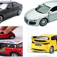 PROMOTIE! SUPER SET 4 MASINUTE DIN FIER BMW,HONDA,MINI,AUDI R8,LUMINI,SUNETE.NOI