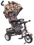 Tricicleta multifunctionala Sunny Steps Vip Camouflage, Baby Mix