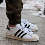 Adidas Superstar, 41 1/3, 42, 42 2/3, 43 1/3, Din imagine