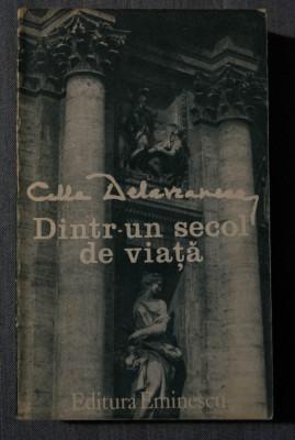 Cella Delavrancea - Dintr-un secol de viață foto