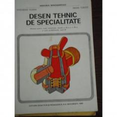 DESEN TEHNIC DE SPECIALITATE - GHEORGHE HUSEIN