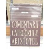 COMENTARII LA CATEGORIILE LUI ARISTOTEL , CONSTANTIN NOICA