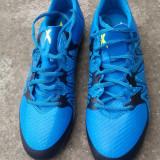 Ghete de fotbal Adidas X15, 46, Bleu