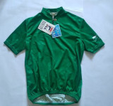 Tricou pentru ciclism, marca FILA, marime 4/M, nou, Made in Italy, poliester, Verde