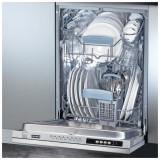 Masina de spalat vase incorporabila FDW 410 E8P A+, 10 seturi, 8 programe, 45 cm, clasa A+, 117.0282.453, Franke