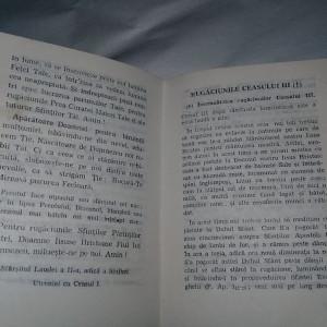 carte religioasa ortodoxa veche,MICA PRAVILA,CELE SAPTE LAUDE,perioada Ceausista