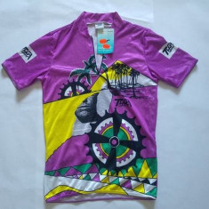Tricou ciclism, marca TUGA sport, marime S, nou, Made in Germany, poliester, S/M, Mov