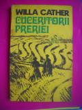 HOPCT  WILLA CATHER -CUCERITORII PRERIEI -1977-200  PAGINI