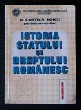 Dr. Costică Voicu - Istoria statului și dreptului românesc (curs universitar)