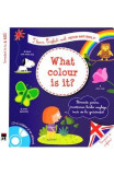 What colour is it? + CD - I learn English with Peter and Emily - Annie Sussel, Christophe Boncens