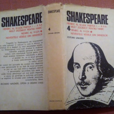 Opere Complete. Volumul 4. Editie critica si cartonata - Shakespeare, Alta editura, William Shakespeare