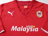 TrIcou PUMA fotbal - CARDIFF CITY FC (Tara Galilor), XXL, Din imagine, De club