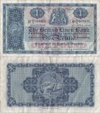 1957 (5 IV), 1 pound sterling (P-157d.5) - Scoția!