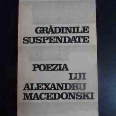 Gradinile Suspendate Poezia Lui Alexandru Macedonski - Daniel Dimitriu ,543784