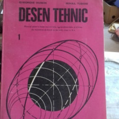 DESEN TEHNIC - GHEORGHE HUSEIN