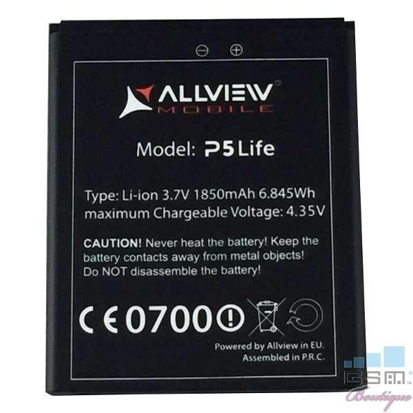 Baterie Acumulator Allview P5 Life Li-ion 1850 mAh 6.845 Wh foto mare