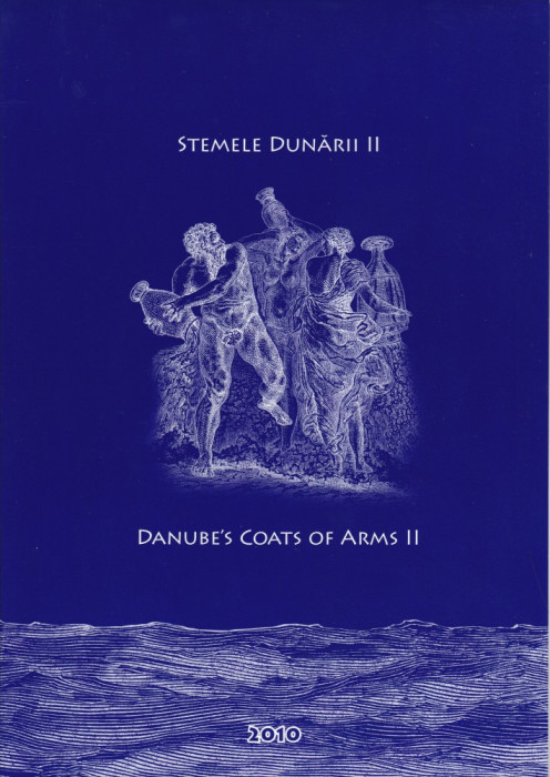 ROMANIA 2010  LP 1880 c  STEMELE DUNARII  II  MAPA  FILATELICA