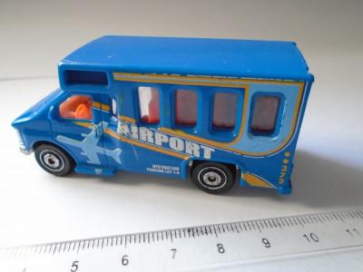 bnk jc Matchbox MB372 - Chevy Transport Bus - 1/80 foto