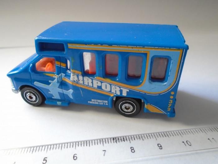 bnk jc Matchbox MB372 - Chevy Transport Bus - 1/80 foto mare