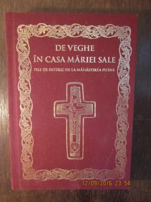 DE VEGHE IN CASA MARIEI SALE , FILE DE PATERIC DE LA MANASTIREA PUTNA , 2017 foto