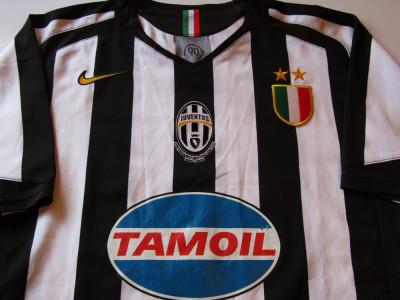 TrIcou NIKE fotbal - JUVENTUS TORINO (aniversare 100 de ani) foto