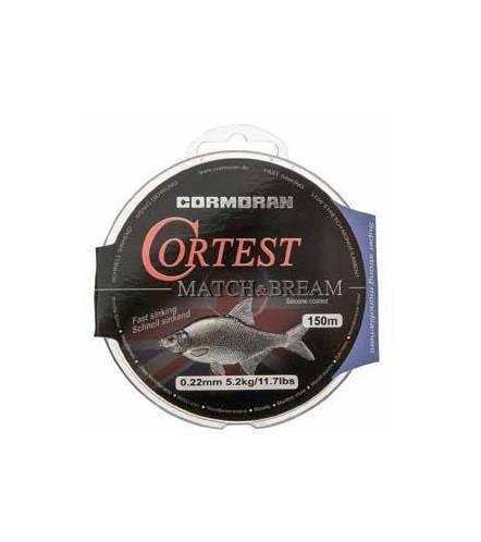 Fir Monofilament Cormoran Cortest Match Bream, 0.25mm/6,4kg/150m