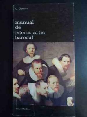 Manual De Istoria Artei Barocul - G. Oprescu ,543719 foto