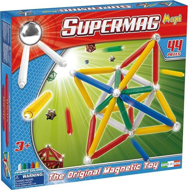 SUPERMAG MAXI PRIMARY - SET CONSTRUCTIE 44 PIESE foto mare